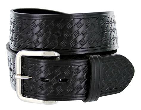 s basketweave work leather belt 1 3 4 quot wide