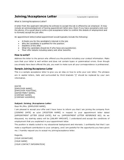 Acceptance Letter Of Agreement Agreement Acceptance Letter Letter Of Agreement Format Hashdoc Promotional Letter On Business