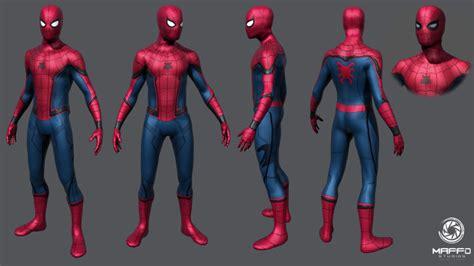 ageekylink the latest weird use of cgi adding pubic hair image spider man captain america civil war concept art