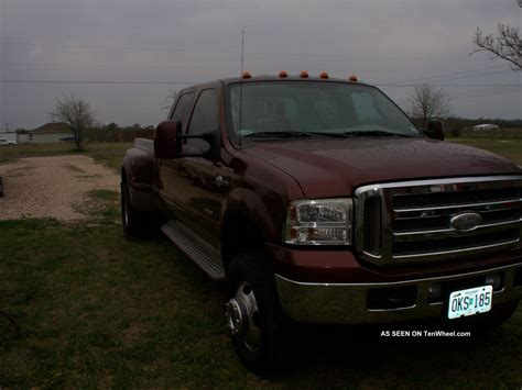 2005 ford f 350 duty king ranch crew cab 4 door