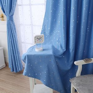 blue curtains with stars kids star curtains country star curtains