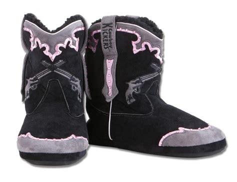 cowboy boot house shoes bella charm shop