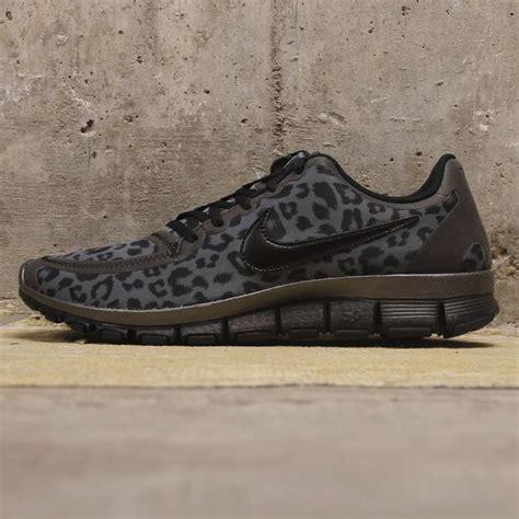 nike cheetah sneakers nike wmns free 5 0 trainer black leopard sneakers nike