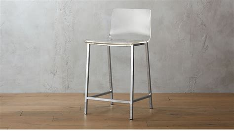 Vapor Acrylic Bar Stools by Vapor 24 Quot Acrylic Counter Stool Cb2
