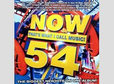 Now That's What I Call Music! 54 (U.S. series) - Wikipedia Number 1 100 Chart