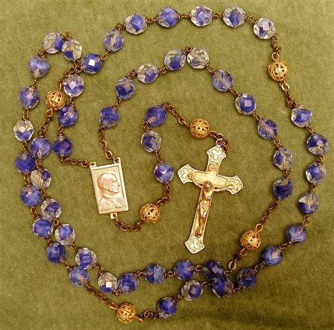 rosary bead prayers 50 best vintage rosary images on rosary