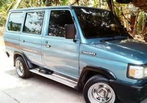 Toyota Tamaraw Fx Modified Tamaraw Fx Dual Aircon Gl Mags 15 5k Used Philippines
