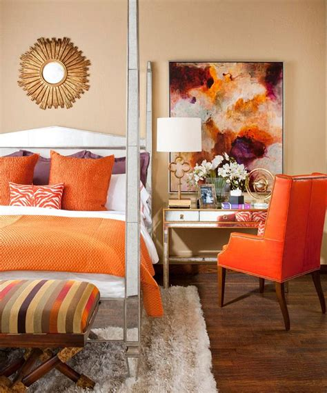 orange bedroom accessories 58 best colour at home orange images on pinterest