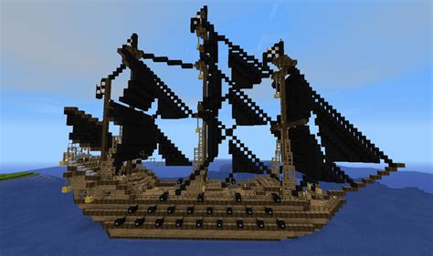 big boat minecraft map the dark avenger big pirate ship download minecraft