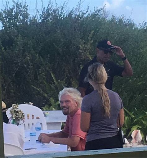 obama island the obamas pictured with richard branson in caribbean