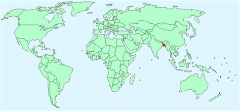where is dhaka on the world map bangladesh facts and figures