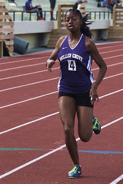defending champs hold leads  dcsd track  field championships athletics