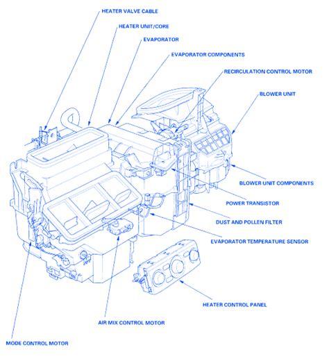 honda pilot  engine electrical circuit wiring diagram