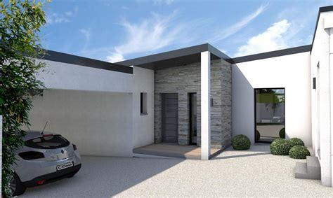 Plan De Maison Plain Pied Moderne 28 Images Plan maison contemporaine plain pied 28 images plan maison