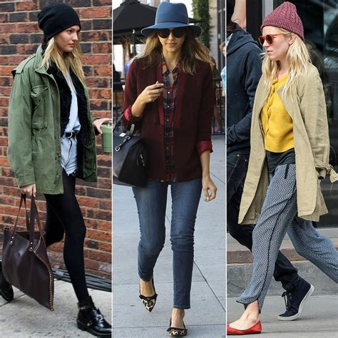 celebrity street style winter 2015 celebrities tell you how to make your outfit all about the