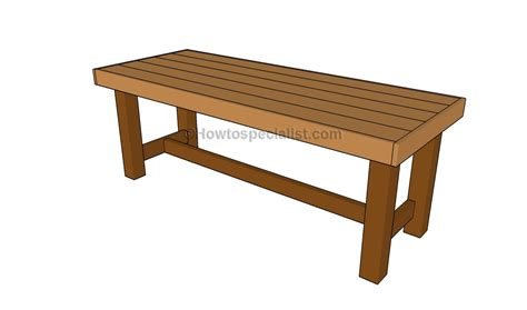 How To Build Outdoor Furniture Howtospecialist How To Outdoor Patio Tables