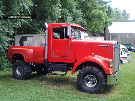kenworth automatic 1967 kenworth monster truck automatic 4x4
