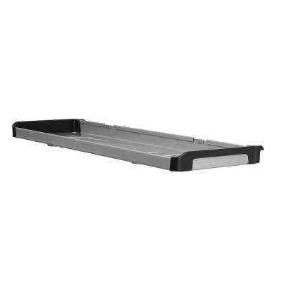 Rubbermaid Fasttrack Shelf by Rubbermaid Fasttrack 48 In X 16 In 3 Laminate Shelf With 47 In Upright 1937611 The Home Depot