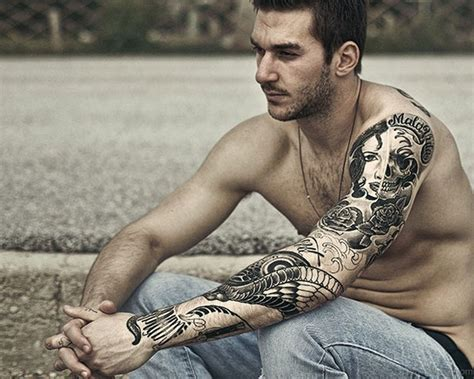full sleeve tattoo for men 60 sleeve for