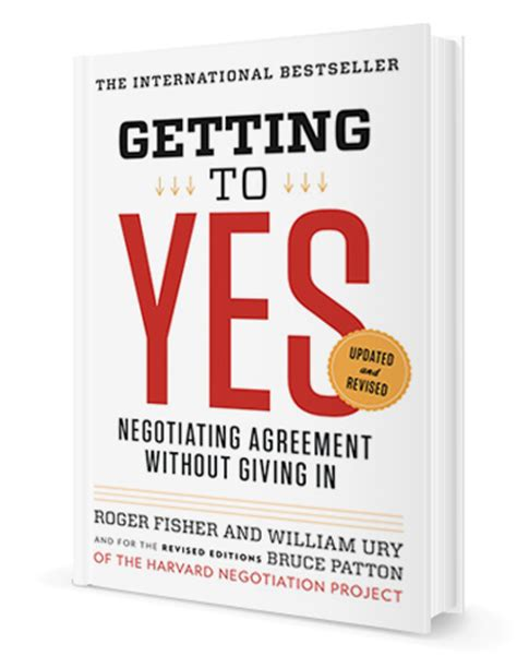 getting books william ury getting to yes negotiating agreement