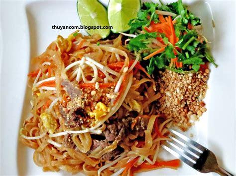 blog of salt homemade pad thai sauce