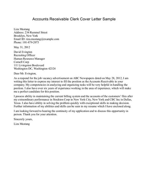 Cover Letter Sle Accounting cover letter accounting sle 28 images cover letter
