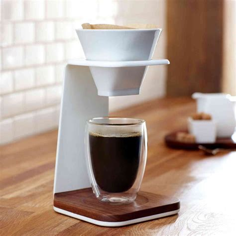 Unique Kitchen Island Ideas pour over coffee maker in various types for the best