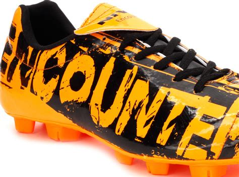 encounter football shoes nivia encounter football stud orange black