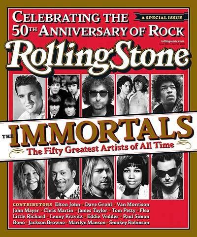 rolling stones 100 immortals and the rock and roll hall rs 946 the immortals photo the decade in rolling stone