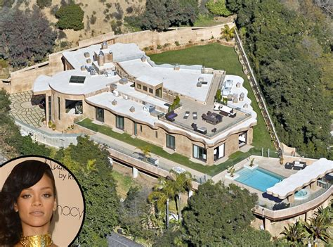 celebrity mansions rihanna from celebrity mega mansions mansions kanye
