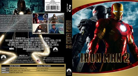Dvd Bluray Ironman iron 2 custom covers ironman 2 custom bluray macd f dvd