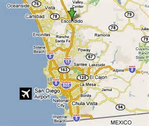 map escondido california escondido ca map
