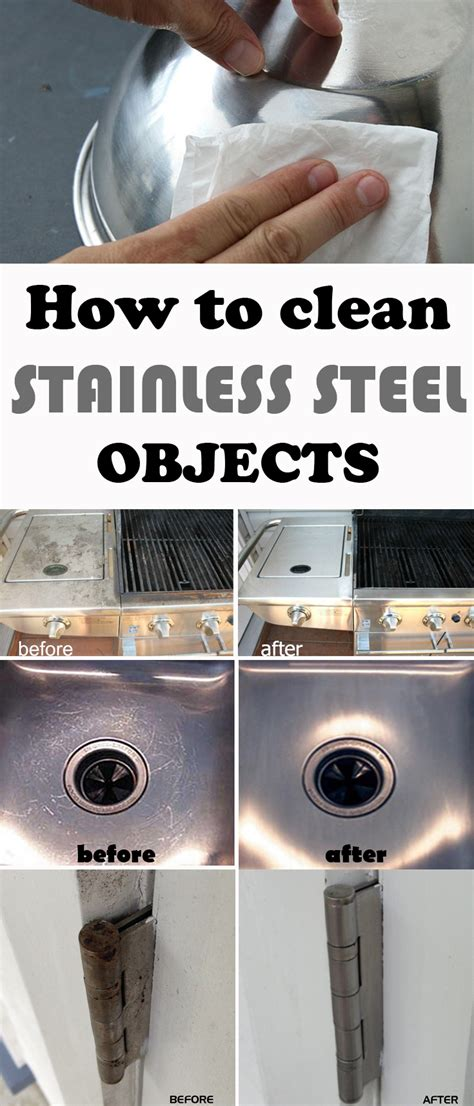 how to polish stainless steel how to clean stainless steel objects 101cleaningtips net