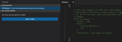 html design snippets html snippet extension for visual studio code