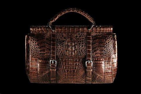 Exclusive Limited Edition Prada Crocodile Clutch by Prada Brown Leathers Clutch Bag