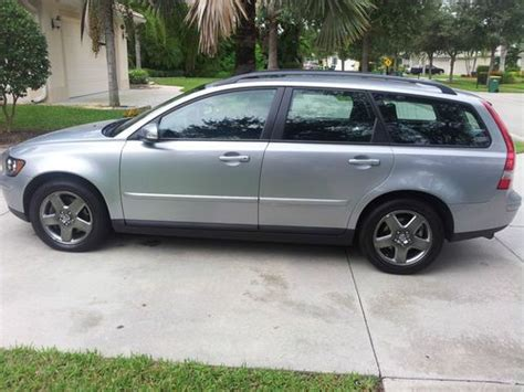 2007 volvo v50 t5 buy used 2007 volvo v50 t5 wagon 4 door 2 5l in naples