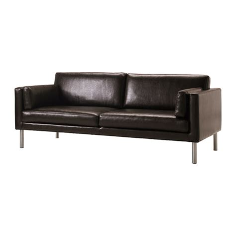 ikea sectional leather