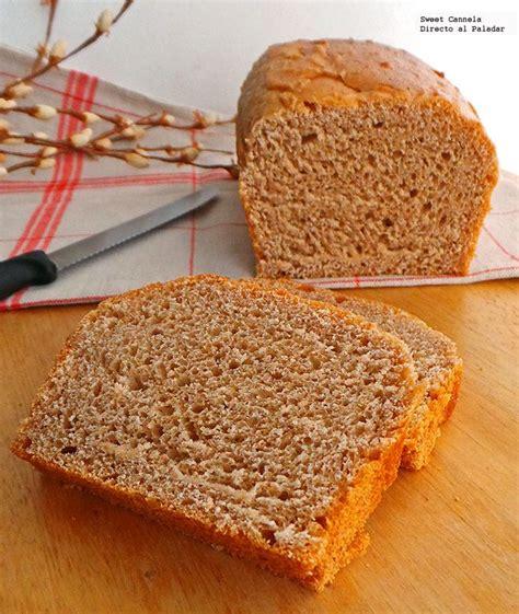 como hacer pan para celiacos en casa c 243 mo hacer pan de caja integral en tu casa receta