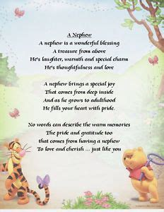 Happy 5th Birthday To My Niece Quotes Details About Personalised Print Nephew Poem Various