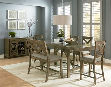 standard furniture omaha  piece counter height table set