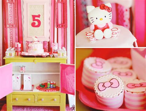 kitty birthday themes hello kitty themed birthday party via karas party ideas