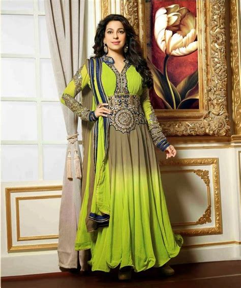 2007 Fashion Trends Nersels Designer Trendy Gold Jewelry by Juhi Chawla Designer Dress Summer Collection 2014