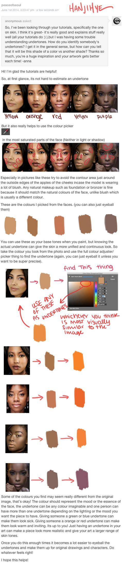 tutorial wpap skin tone finding undertones by hanjihye skin colors tones