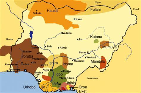 yoruba africa map friends of yoruba