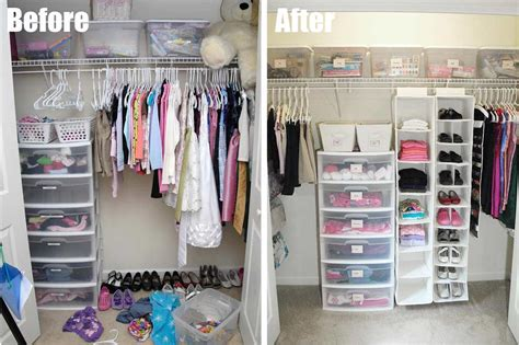 Closets And Things by 7 Total Closet Makeover Living Rich On Lessliving Rich On Less