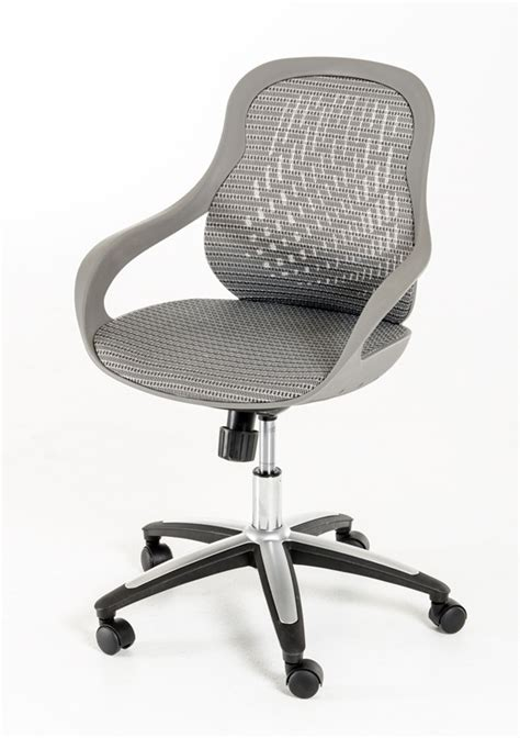 grey office chair modrest modern grey office chair