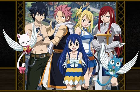 fairy tail manga naruto and bleach anime wallpapers fairy tail hd