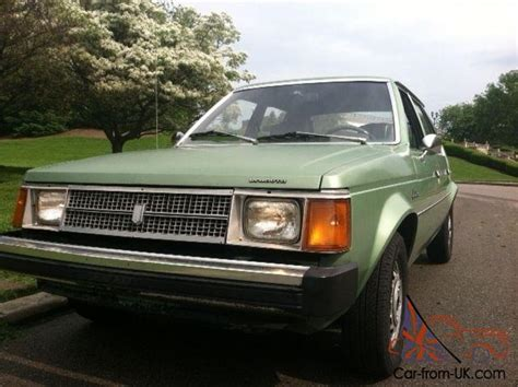 how cars run 1978 plymouth horizon electronic toll collection 1978 plymouth horizon dodge omni survivor