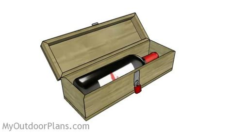 wine box plans myoutdoorplans  woodworking plans  projects diy shed wooden