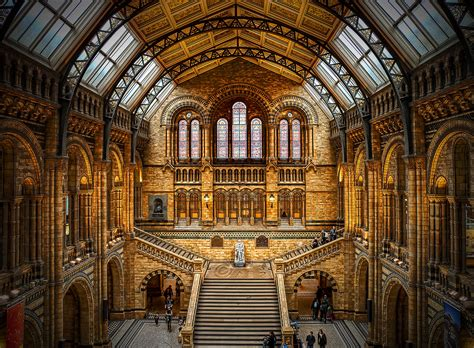 natural history museum london united kingdom hdr